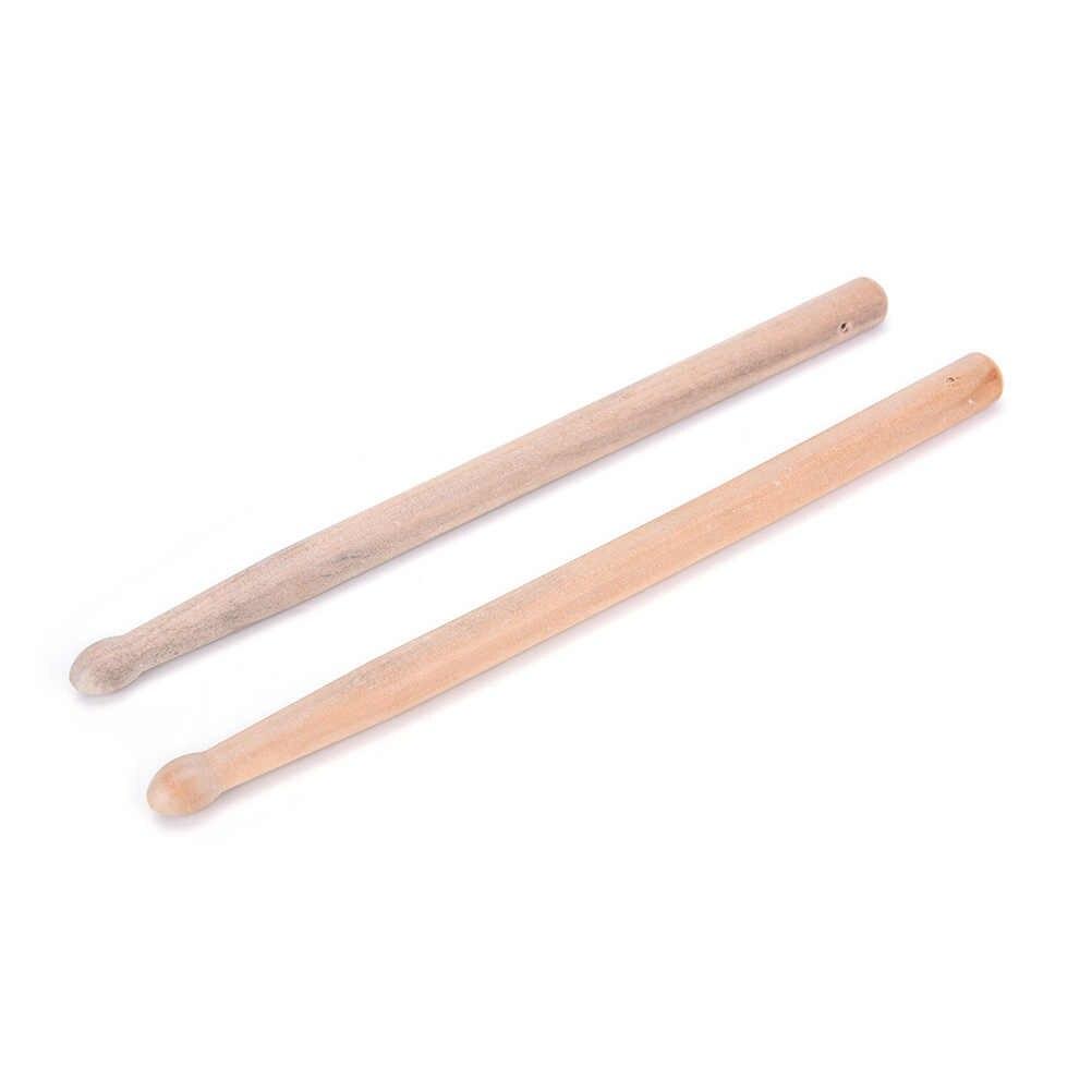 Tambor antiderrapante 5a, varas de madeira profissionais para instrumento musical, acessórios de banda para música, 1 par