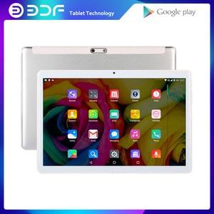 Image 1 - BDF Neue Android 4,4 tabletten pc telefon sim karte 10 Zoll 1GB + 16GB IPS LCD Quad Core 5000Mah Batterie Wifi Bluetooth Schönes Design tab