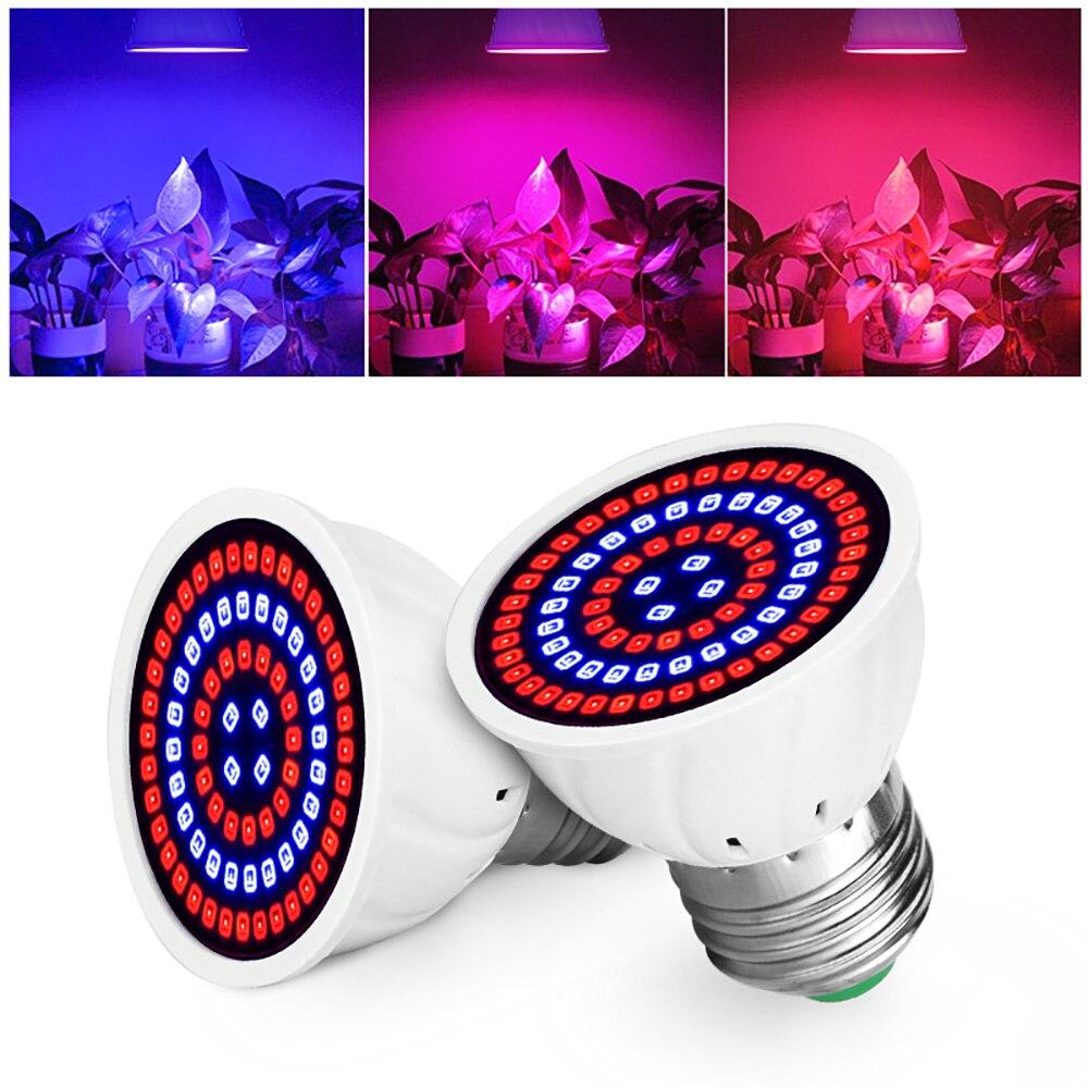 New Led Bulb Hydroponic Growth Light E27 B22 Led Grow Bulb MR16 Full Spectrum 220V Lamp Plant E14 Flower Seedling Fitolamp GU10