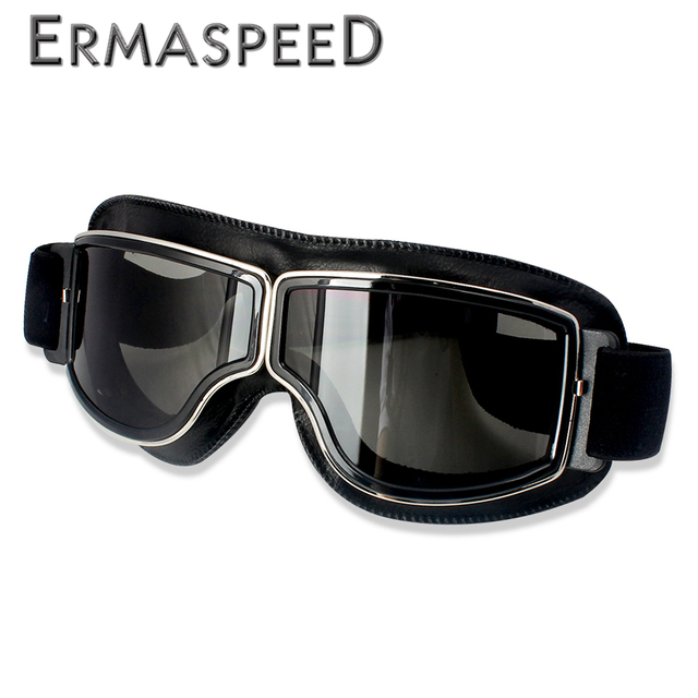 Safety Windproof Motorcycle Glasses Retro Motocross Goggles Eye Protection Cycling Outdoor Dirt Bike Riding Vintage Sunglasses 1