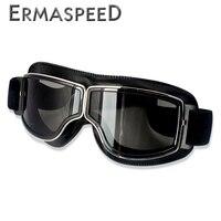 Motocross óculos de proteção capacete piloto scooter retro moto bicicleta da sujeira ao ar livre equitação óculos de sol retro motocicleta vintage fora de estrada Óculos p/ moto     -