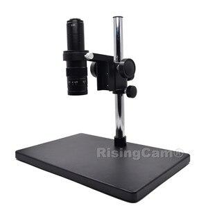 Image 4 - Zoom 0,7 x 4,5 x Monokulare Zoom Stereo mikroskop 0,5 X C montieren industrical objektiv für PCB telefon reparatur