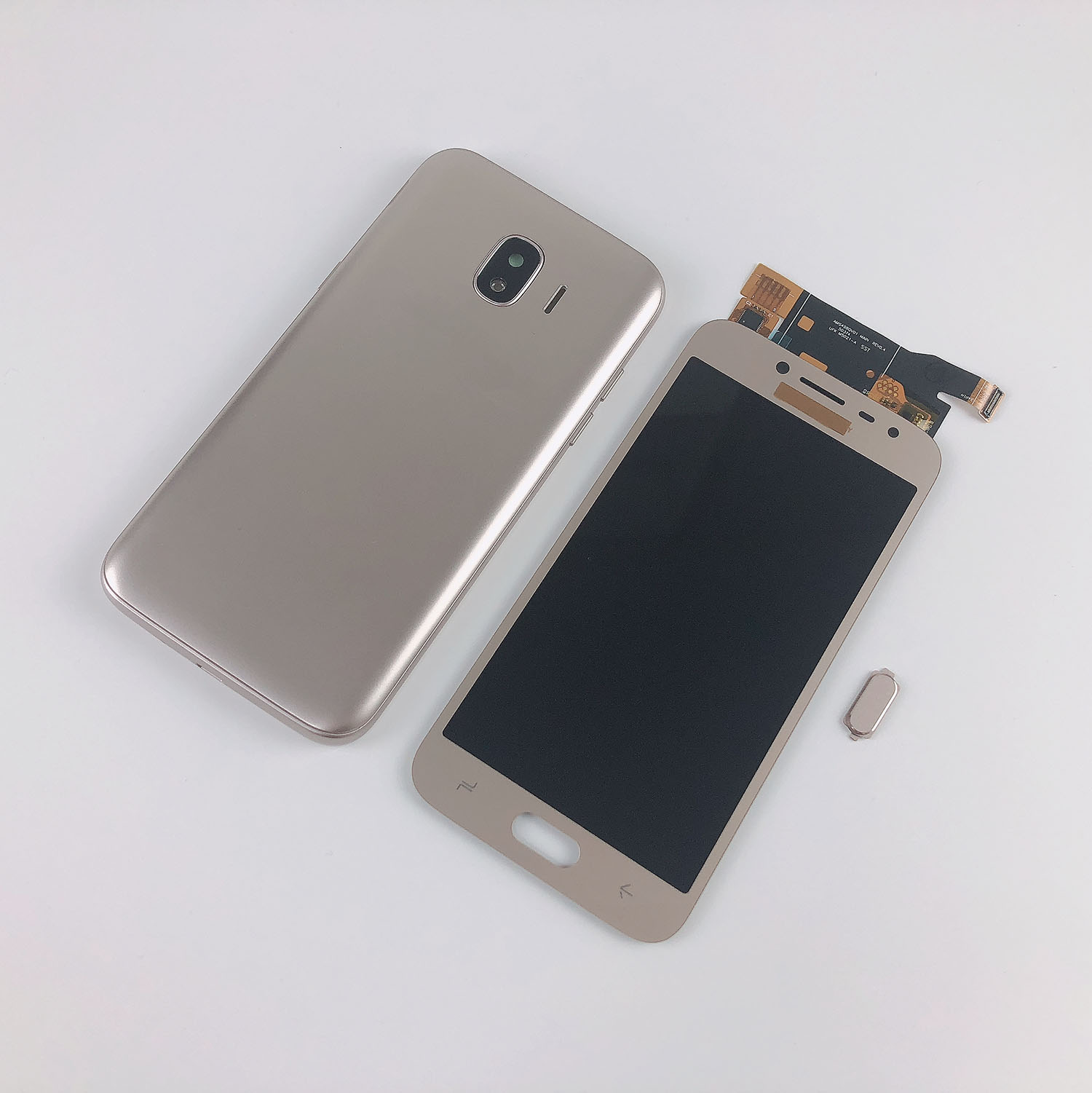 For <font><b>Samsung</b></font> <font><b>Galaxy</b></font> <font><b>J2</b></font> Pro <font><b>2018</b></font> J250 LCD Display Touch Screen Digitizer Display+Housing Middle Frame Cover+Battery Back Cover image