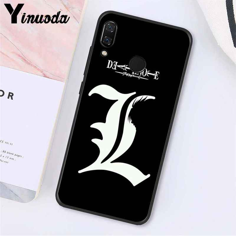 Yinuoda Manga Anime Death Note Ryuk Phone Case untuk Xiaomi Redmi Note 7 5 4 Redmi 5 Plus 6A Note8 4X Note8Pro