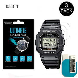 Screen-Protector Sport Watch DW5600 Anti-Scratch Casio for HD Clear Lcd-Film 3pack-Nano