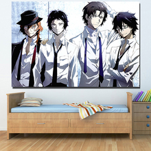 Bungou Stray Dogs Animation Poster Canvas Painting Unframed Wall Art Pictures Print For Living Room Home Decor