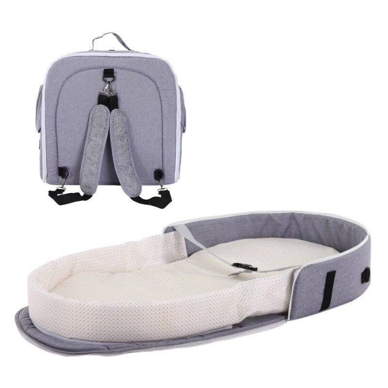cama do bebê viagem interior mochila respirável infantil cesta de dormir