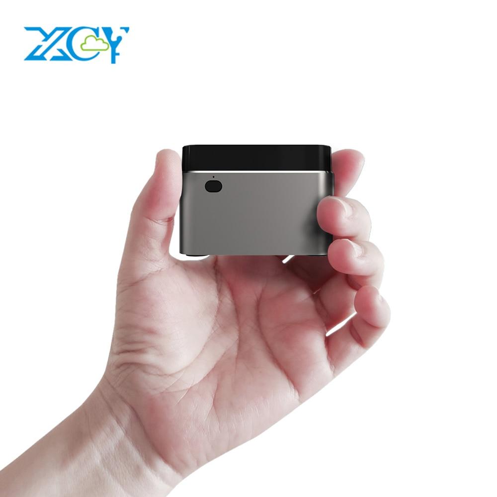 XCY Mini PC Intel Celeron N4100 Quad-Core 8GB M.2 LPDDR4 128GB SSD 2.4G/5.0G Wi-fi Bluetooth 4.2 HDMI2.0 4K 60Hz USB-C Janelas 10