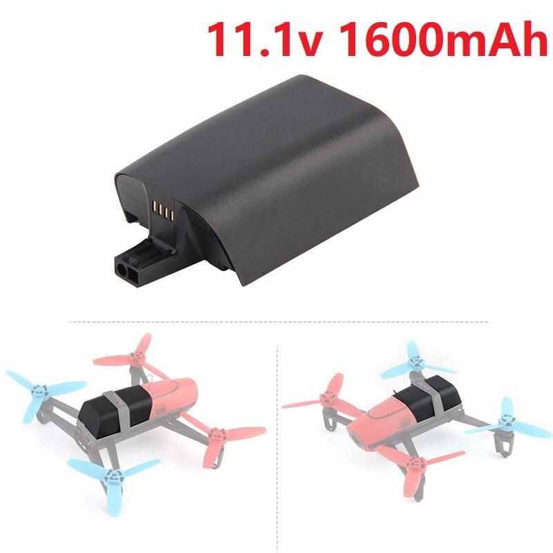 Original Battery 11.1V 1600mAh 20C 27.7Wh For Parrot Bebop Drone 3.0 11.1v Lipo Battery Drone Backup 11.1v Rechargeable Battery