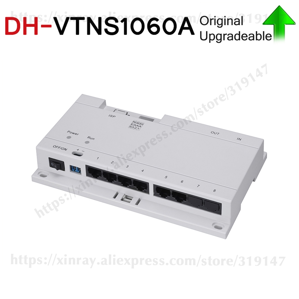 Clearance Dahua Original VTNS1060A  Video Intercom POE Switch For IP System VTO2000A Connect Max 6 Indoor Monitors