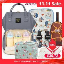 Sunveno sac à langer de grande capacité pour maman, sac à langer de styliste pour allaitement, sac à dos de voyage et de soins pour bébé et enfant