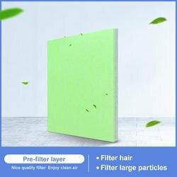 Универсальный Без сложения не-тканый фильтр хлопок для фильтра воздуха для любого очиститель воздуха высокая эффективность для очистки