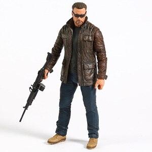 Image 2 - NECA Terminator 6 темная судьба старый телефон/Сара Коннер экшн фигурка Коллекционная модель игрушка