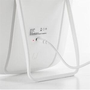 Image 4 - Youpin Led Make Up Spiegel Touch Gevoelige Controle Led Natuurlijke Licht Vulling Verstelbare Helderheid Hoek Lichten Lange Batterij Li