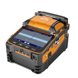 AI-9 signal light multilingual optical fiber fusion splicer FTTH fiber optic splicer built-in optical power meter and VFL5.0