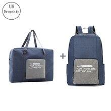 New Men Travel Bags WaterProof Nylon Folding laptop