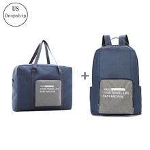 Nowe męskie torby podróżne wodoodporne nylonowe składane torby na laptopa torba o dużej pojemności bagaż torby podróżne przenośne torebki damskie tanie tanio USDROPSHIP A158 zipper Wszechstronny 15 6cm Miękkie 41cm Stałe Na co dzień 0 2kg 32cm Podróż torba Support