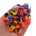 50 шт., пластиковые инструменты для вязания, 11 х22 мм
