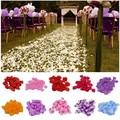 Искусственные искусственные лепестки роз 500/1000/3000 шт., искусственные лепестки роз для свадебной вечеринки, романтического ночного мероприя...