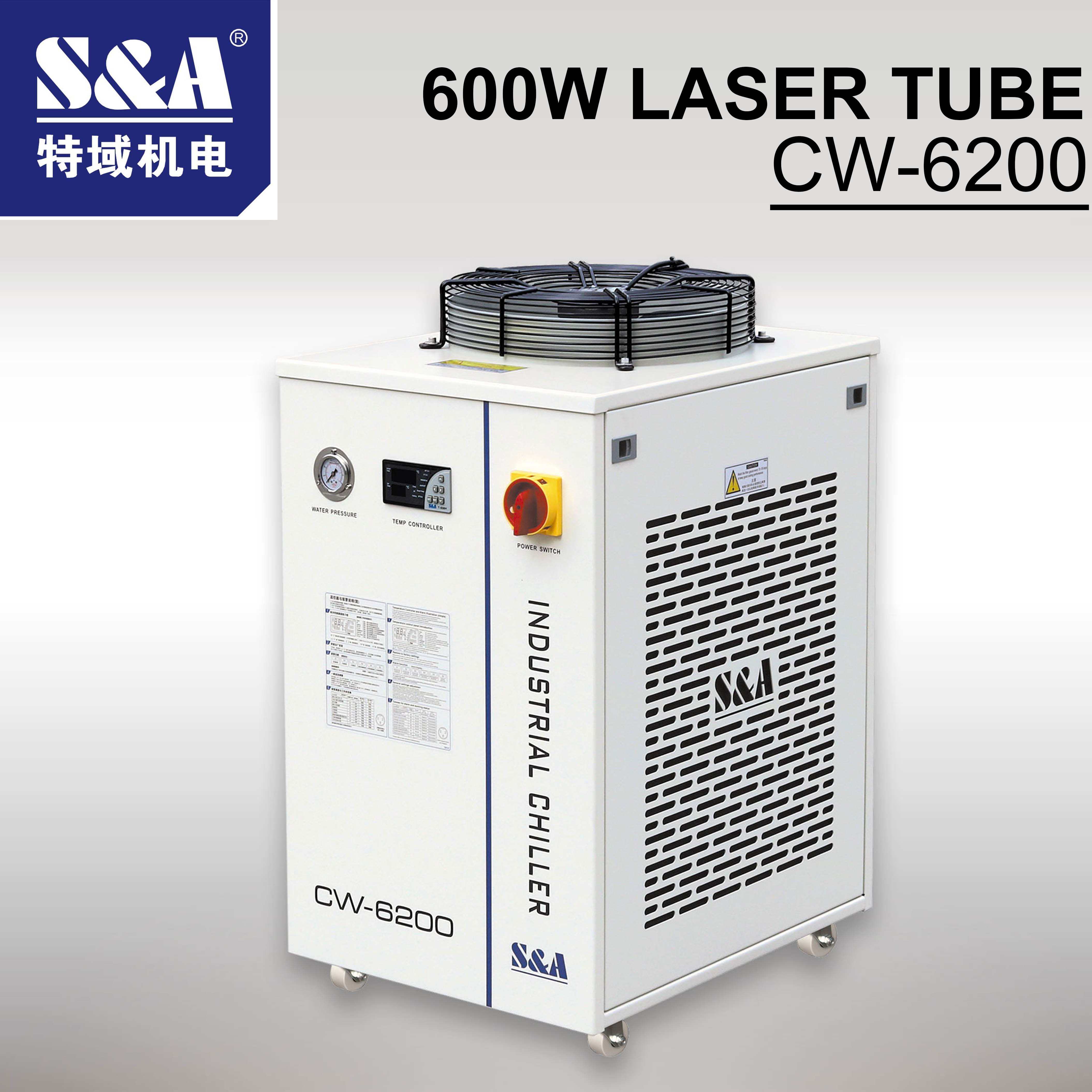 CO2 Laser Cutting Machine Industry Water Cooling Machine CW-6200  Laser Chiller