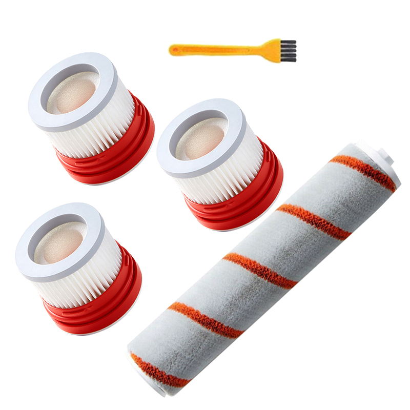 Replacement HEPA Filter Roller Brush Kit for XIAOMI Dreame V9 Handheld Cordless Vacuum Cleaner Spare Parts Accessories