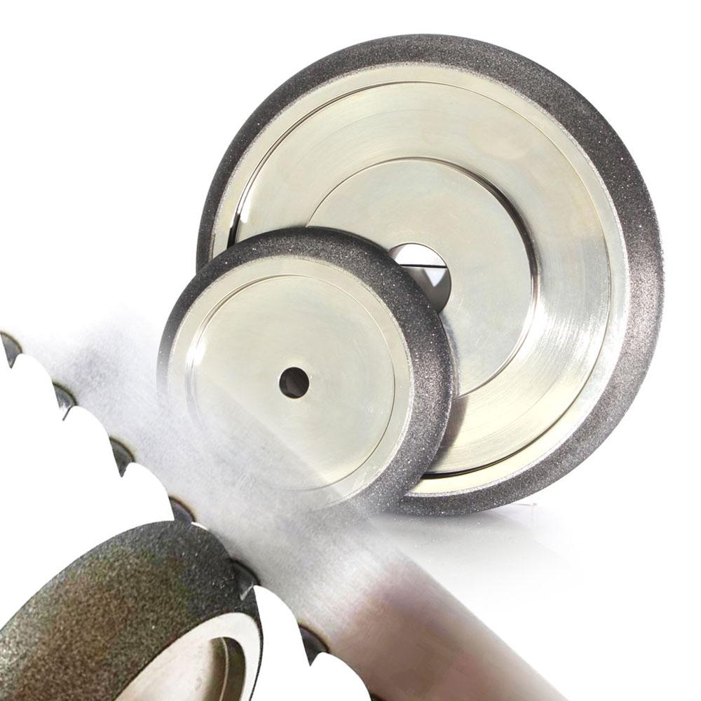 Гальванизированный CBN шлифовальный круг для ленточной пилы заточки|Абразивные инструменты|   | АлиЭкспресс