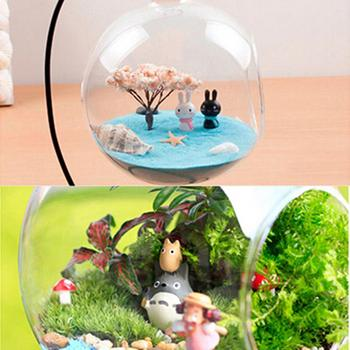 6 Colors 1 Bag Figurines For Micro Landscape Sand To River Sea Fairy Garden Miniatures Terrariums Resin Crafts Home Decoration image