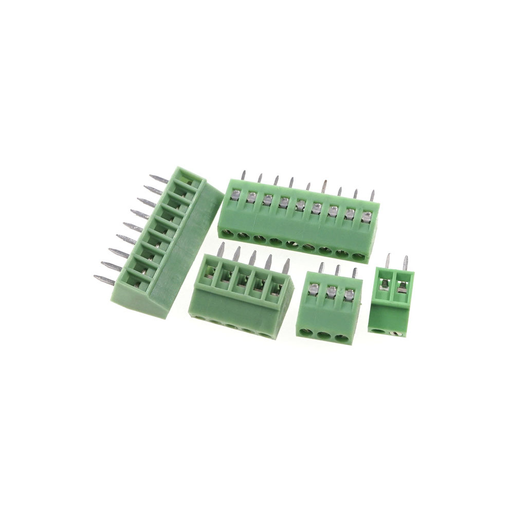 50 pcs Universal 2.54 mm Pitch 2 Pin 3 4 5 6 7 8 9 10 12 poles PCB Screw Terminal Block Connector straight through holes board|4 pin connector pcb|pcb connector 4 pin4 pin pcb connector - AliExpress