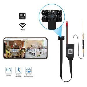 Беспроводная мини-камера видеонаблюдения, 1080P, Wi-Fi, IP, Спортивная камера Espia DV P2P, видеорегистратор, ночное видение, цифровая маленькая носима...