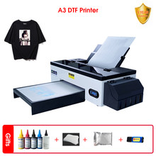 Procolored 2021 New Design A3 DTF Printer + PET Film + Software+DTF Inks +500g Powder T-shirt Printing Machine