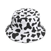Bucket-Hat Summer Fashion Print Fisherman-Cap Graffiti Packable Creative Unisex