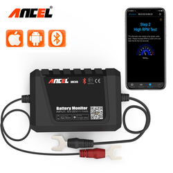 ANCEL BM300 12V Battery Tester For Android IOS Via Bluetooth Electric Charging Cranking Test Voltage Test Battery Monitor
