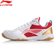 Li Ning Tenis de Mesa para hombre, almohadilla de entrenamiento, forro li ning, zapatillas deportivas, zapatillas APTP001 YXT033