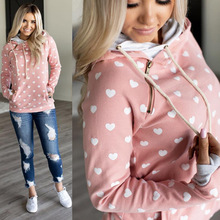 women hoodies harajuku sweatshirt korean regular print pullovers casual gothic oversized hoodie 2019 pink sweatshirts love