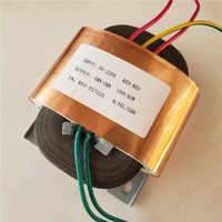 Transformateur fait sur commande 100V 0.6A R du transformateur R50 60VA de noyau 220 V/230 V avec l'amplificateur de puissance de pré-décodeur de bouclier de cuivre