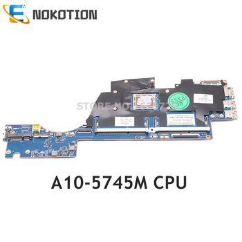 NOKOTION 725462-501 725462-001 VPU11 LA-9851P for HP Envy M6 M6-K010DX M6-K000 M6-K022d laptop motherboard A10-5745M HD 8610G