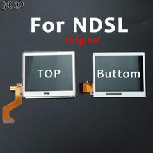JCD شاشة LCD سفلية لجهاز Nintendo NDS Lite N DSL ، شاشة LCD بديلة لجهاز Nintendo NDS Lite N DSL