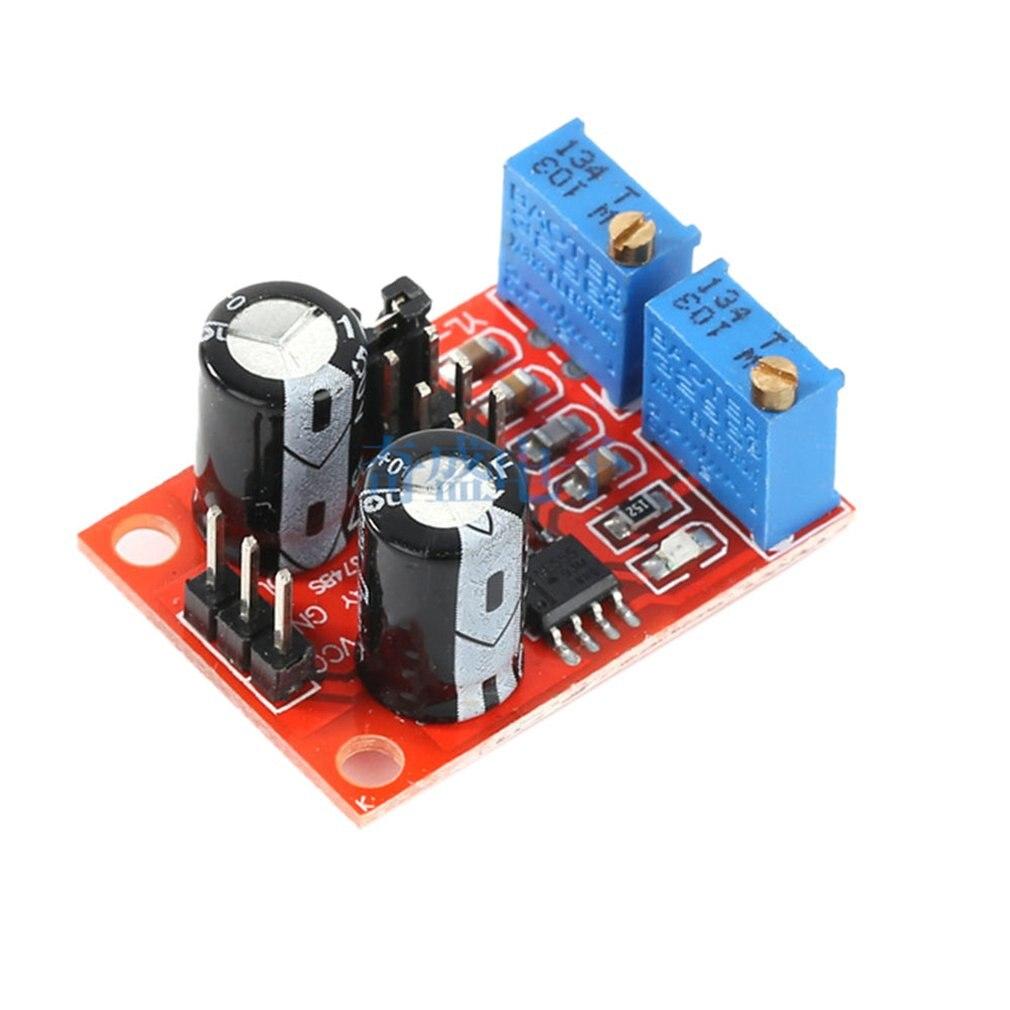 Ne555 frecuencia de pulso Ciclo de servicio módulo ajustable onda cuadrada Rectangular generador de señal de onda paso a paso Motor Drive