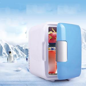 DC 12V 4L Car Refrigerators Ultras Quiet Low Noise Car Mini Refrigerators Freezer Cooling Heating Box Fridge Home Outdoor