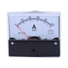 Pannello analogico Ampere di Corrente Contatore Meter Amperometro DC 100A DH-670