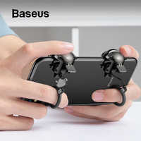 Baseus Pubg Controller per iPhone XR L1 R1 Gaming Trigger Pubg Mobile Periferiche e Controller per Videogiochi Pulsante di Fuoco Smart Phone Mobile Shooter Controller