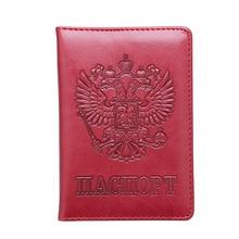 Vintage Passport Holder Women Travel Passport Holder Leather Russia Passport cover case passport case Passport Wallet cardholder