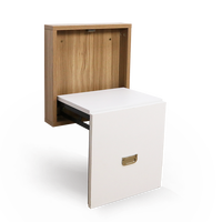 Change shoes, stool, folding stool, porch, invisible wall hanging, door, household footstool, wall chair