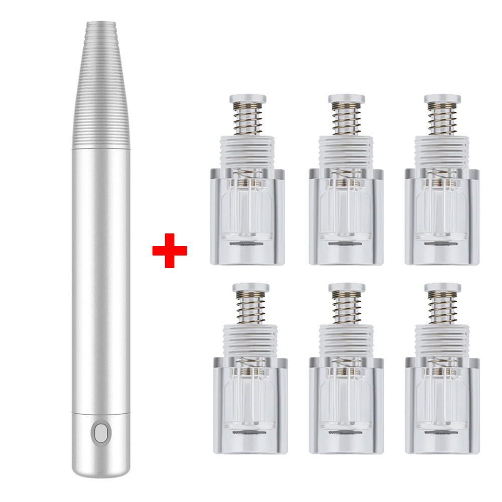 Derma Pen Rechargeable Nano Needles Dr. Pen Machine Professional Beauty Equipment Derma Stamp Therapy With Nano Chip Needles