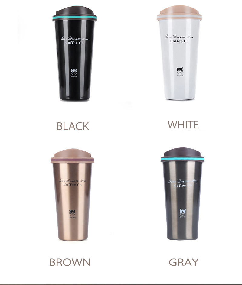 H0663aae9a3cd41918fed5ecd77e805eeB Hot Quality Double Wall Stainless Steel Vacuum Flasks 350ml 500ml Car Thermo Cup Coffee Tea Travel Mug Thermol Bottle Thermocup