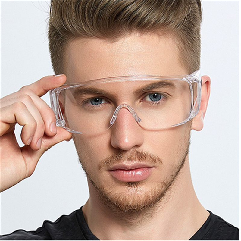 Drop Shipping Anti-Splash Safety Goggles Clear Lens Glasses Antivirus Hospital Eye Protection For Women Man