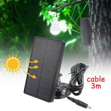 Charger Trail-Camera Solar-Panel Wildlife-Scouting Battery External-Power Hunting