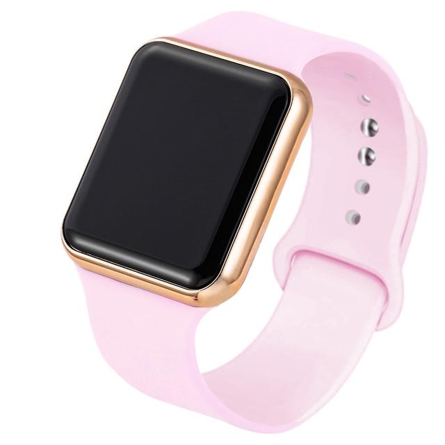 Fashion Unisex Silicone Watchband LED Digital Sport Women's Watches Men's Wristwatch relogio feminino digital reloj 5