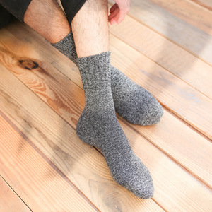 Image 2 - 10 pair/lot High Quality warm wool socks winter men harajuku retro dress socks thick cotton Sock Stripe Casual Calcetines Hombre