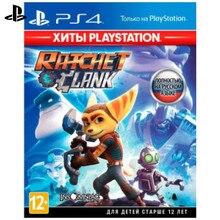 Игра для Sony PlayStation 4 Ratchet& Clank(Хиты PlayStation)(русская версия